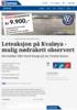 Leteaksjon på Kvaløya - mulig nødrakett observert