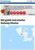 Båt gjekk ned utanfor Halsnøy Kloster