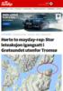 Avslutter aksjon etter resultatløst søk utenfor Tromsø: - Håper det ikke er noen som misbruker mayday-begrepet