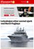 En funnet i havet etter leteaksjon ved Nord-Fugløya - flydd til UNN