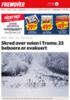 Skred over veien i Troms: 23 beboere er evakuert
