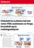 Fiskebåt fra Lofoten tok inn vann: Fikk assistanse av ferge, brannbåt og to redningsskøyter