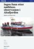 Ingen funn etter nødbluss-observasjon i Altafjorden
