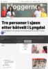 To omkom etter båtvelt i Lyngdal