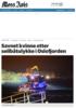 Savnet kvinne etter seilbåtulykke i Oslofjorden