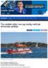 Tre reddet etter rus og mulig vold på drivende seilbåt
