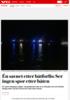 Mann funnet omkommet etter båtforlis i Nordfjord