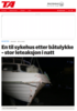 En til sykehus etter båtulykke - stor leteaksjon i natt