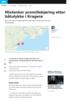 Mistenker promillekjøring etter båtulykke i Kragerø