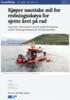 Kjøper nautiske mil for redningsskøya for sjette året på rad