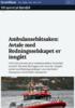 Ambulansebåtsaken: Avtale med Redningsselskapet er inngått