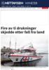 Fire av ti drukninger skjedde etter fall fra land