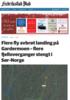 UVÆRET HERJET: Fly avbrøt landing på Gardermoen - flere fjelloverganger stengt i Sør-Norge - kraftige vinkast i Fredrikstad