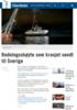 Redningsskøyte som krasjet sendt til Sverige
