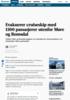 Evakuerer cruiseskip med 1300 personer på Hustadvika i Møre og Romsdal