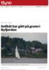 Seilbåt gikk på grunn i Byfjorden