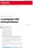 """Røykutvikling på """"Landegode"""": - Går nå for egen maskin"""