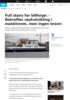 Bilferge trygt i land igjen etter motorstans
