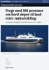 Ferge med 168 personer om bord slepes til land etter røykutvikling