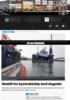 Stabilt for kystvaktskip med slagside