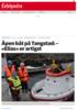 Åpen båt på Tangstad: - «Elias» er artigst