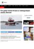 Fire gutter hentet til land av redningsskøyte utenfor Ålesund