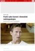 Frank Løke - Frank Løke havnet i dramatisk redningsaksjon