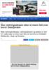 Stor redningsaksjon etter at mann falt over bord i Dalsfjorden