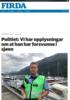 Politiet: Vi har opplysningar om at han har forsvunne i sjøen