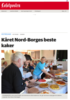 Kåret Nord-Borges beste kaker
