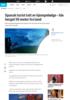 Spansk turist tatt av kjempebølge - ble berget 50 meter fra land