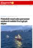 Fiskebåt med seks personer ombord reddet fra å gå på skjær