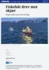 Fiskebåt drev mot skjær