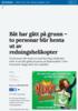 Sjark gjekk på grunn i Finnmark