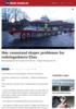 Høy vannstand skaper problemer i Oslofjorden