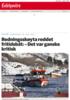 Redningsskøyta reddet fritidsbåt: - Det var ganske kritisk