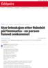 Stor leteaksjon etter fiskebåt på Finnmarka - en person funnet omkommet
