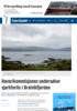 Havarikommisjonen undersøker sjarkforlis i Breivikfjorden