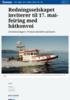 Redningsselskapet inviterer til 17. mai-feiring med båtkonvoi
