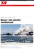 Brann i båt utenfor Jomfruland