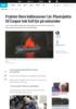 Frykter flere båtbranner i år: Plastsjekta til Casper tok full fyr på sekunder