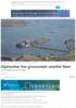 Oljetanker har grunnstøtt utenfor Røst