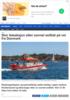 Stor leteaksjon etter savnet seilbåt på vei fra Danmark