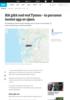 Båt gikk ned ved Tysnes - to personer hentet opp av sjøen