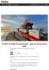 Truffet av bølge fra farens båt - gutt (14) kastet ut av jolle
