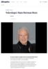 Nekrologer: Hans Herman Horn