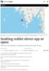 SeaKing reddet elever opp av sjøen