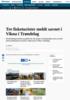 Tre fisketurister fra Sør-Europa er funnet i god behold