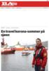 En travel korona-sommer på sjøen