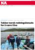 Takker norsk redningsinnsats for å være i live